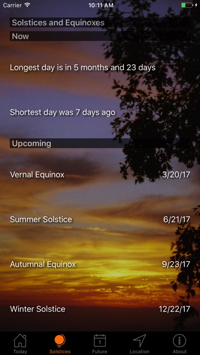 Screenshot #7 for Sunset and Sunrise Times