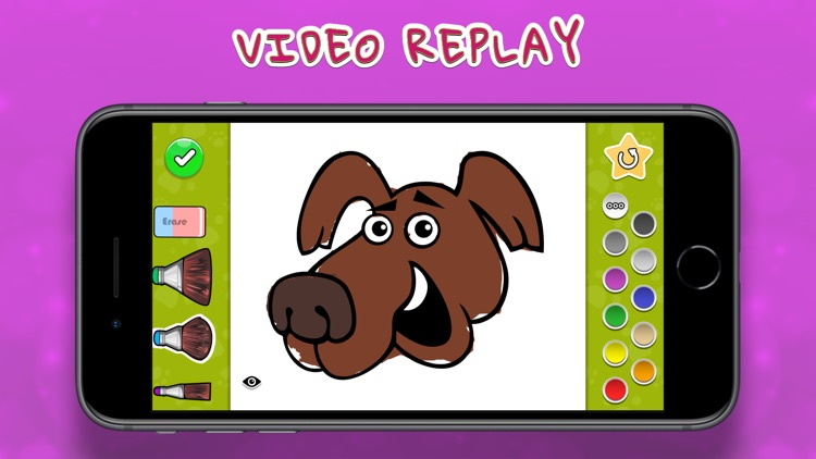 Coloring Your Dogs MAX screenshot-3