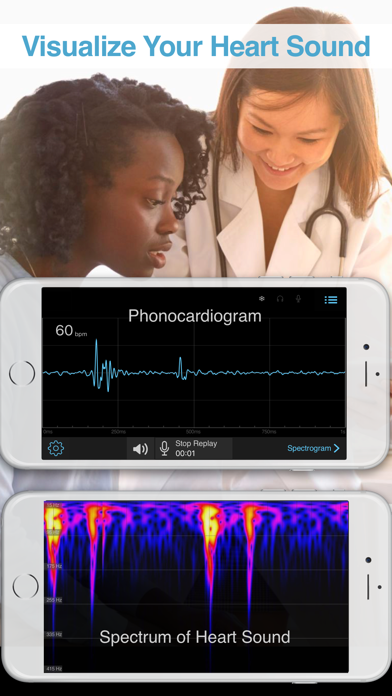 E-Stethoscope & Auscultation screenshot one