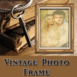 Vintage Photo Collage Frame