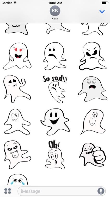 Ghost emoji and sticker screenshot-3