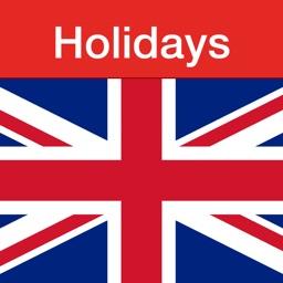 UK Holidays - 2018 edition