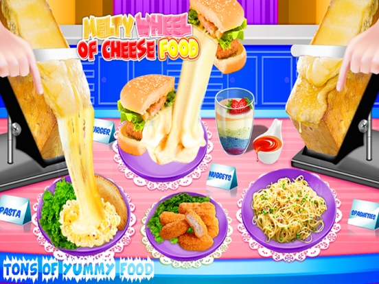 Melted Wheel Of Cheese Foods! | App Price Drops