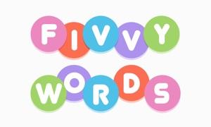 FIVVY WORDS - Letter Puzzle App