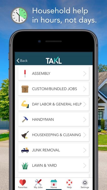 Takl - Home Services On Demand screenshot-0