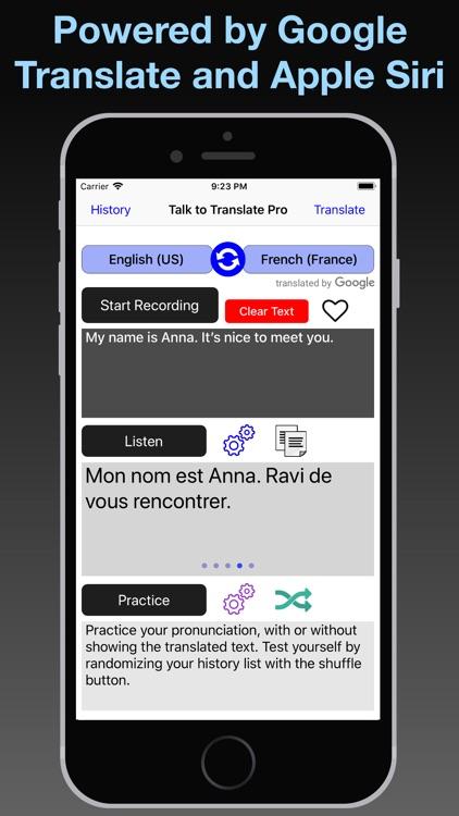 T2T Pro: Speech Translation screenshot-7