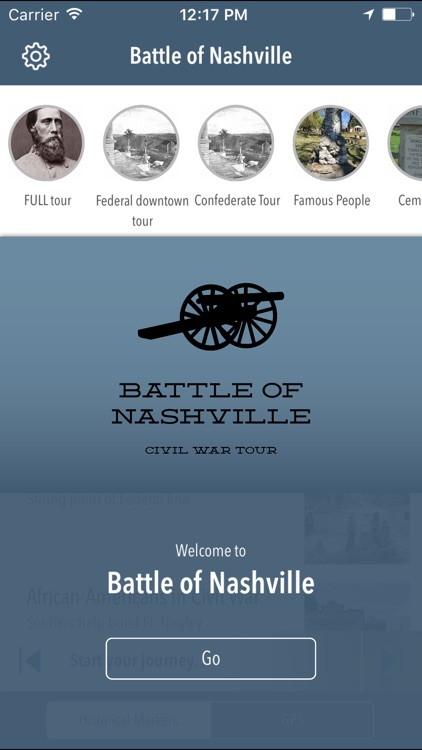 Battle of Nashville Driving Tour