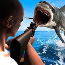 Activities of Angry Shark Hunting& Shooting
