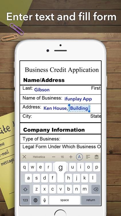 Scanner App + Scan PDF Doc Fax screenshot-3