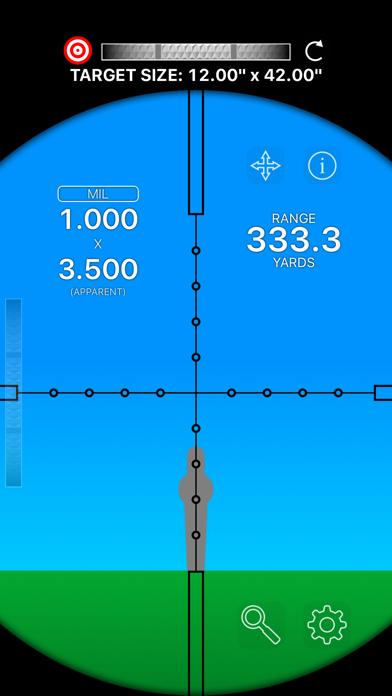 Mil-Dot Rangefinder screenshot