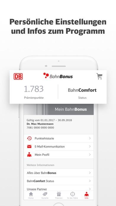 Screenshot for BahnBonus in Germany App Store