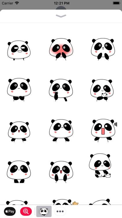 Panda Bear Animated Stickers