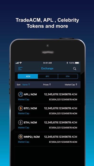 ACM Blockchain Wallet - 窓用