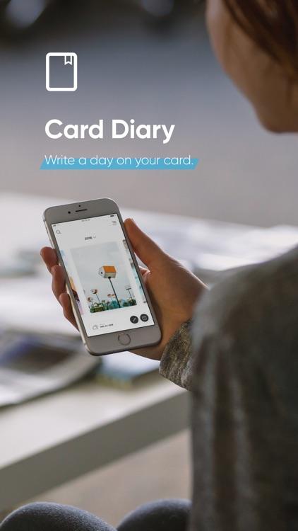 Card Diary - Pretty journal