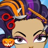 Kids New Halloween Hair Salon game for hair style makeover