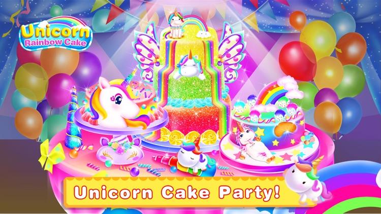 Unicorn Food-Cake Bakery Games screenshot-0
