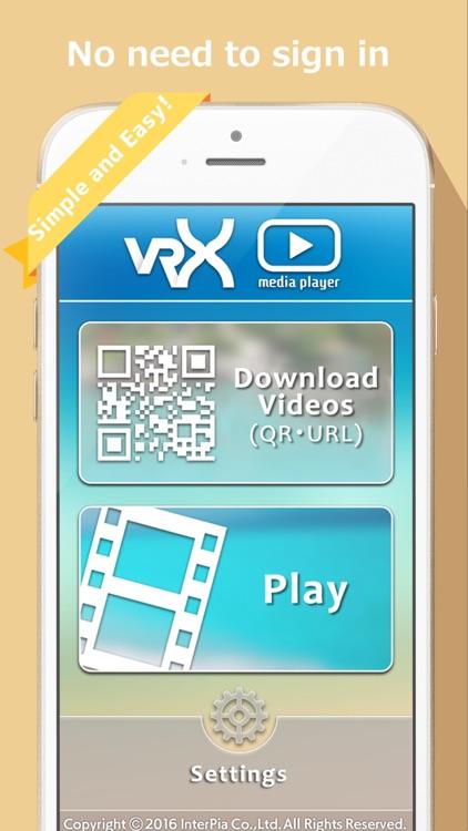 VRX Media Player