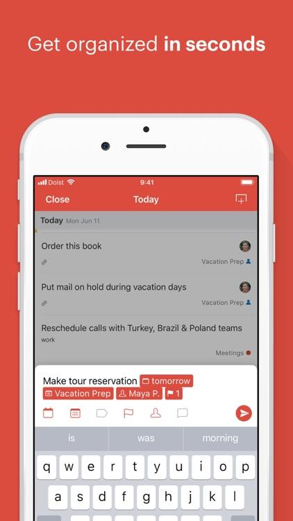 Todoist: Organize your life screenshot-0