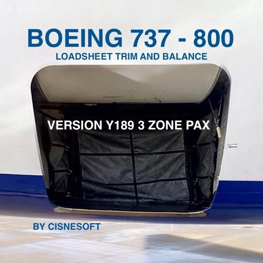 B738 LOADSHEET T B 189 3z PAX By Amdre Ferreira