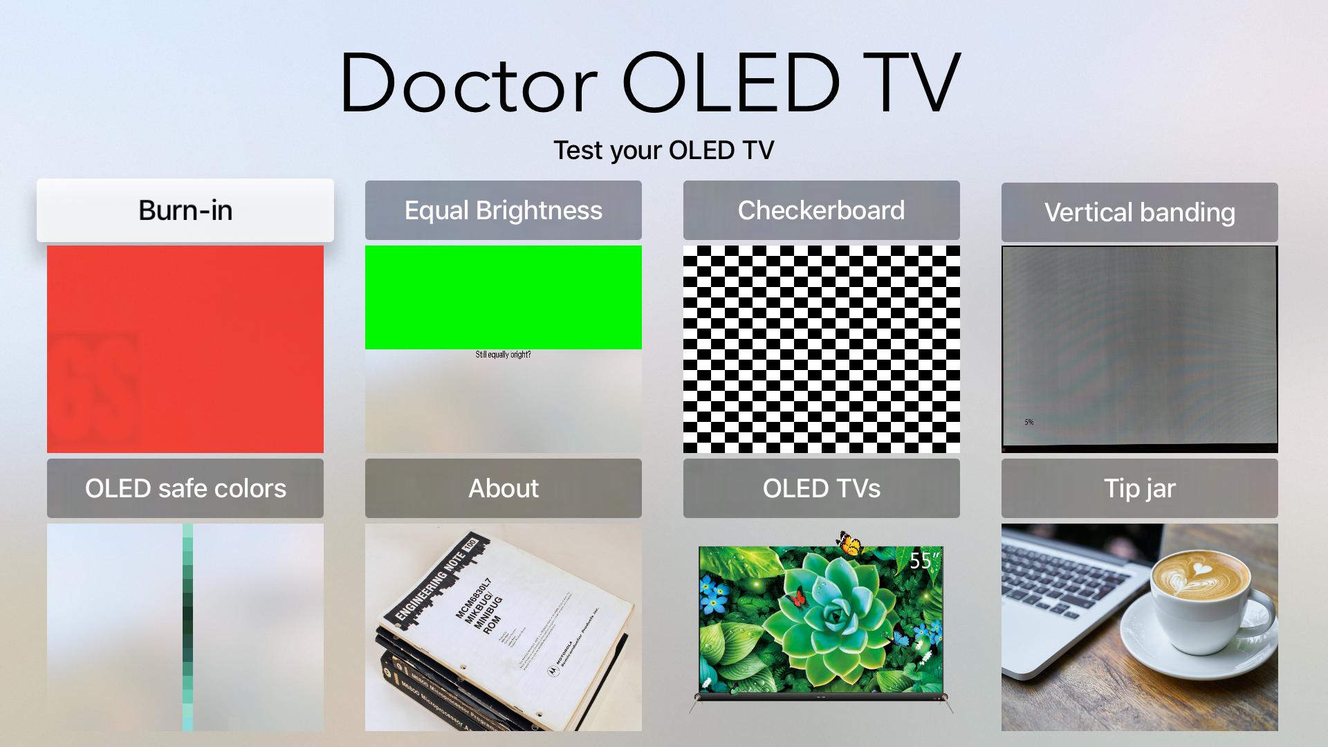 Doctor OLED TV screenshot 1
