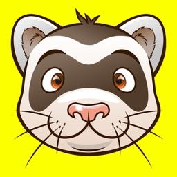 FerretEmoji - Ferret Emoji Keyboard And Stickers