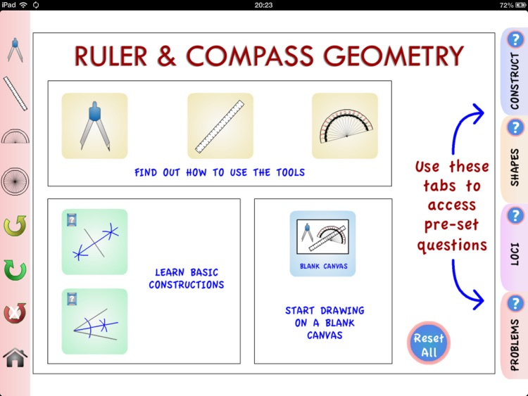 Ruler and Compass Geometry screenshot-0