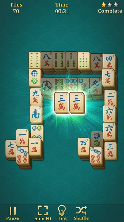 Mahjong Solitaire: Classic screenshot-2