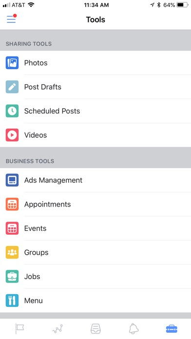 Facebook Pages Manager Screenshots