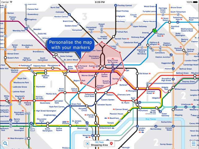 London Underground by Zuti on the App Store on