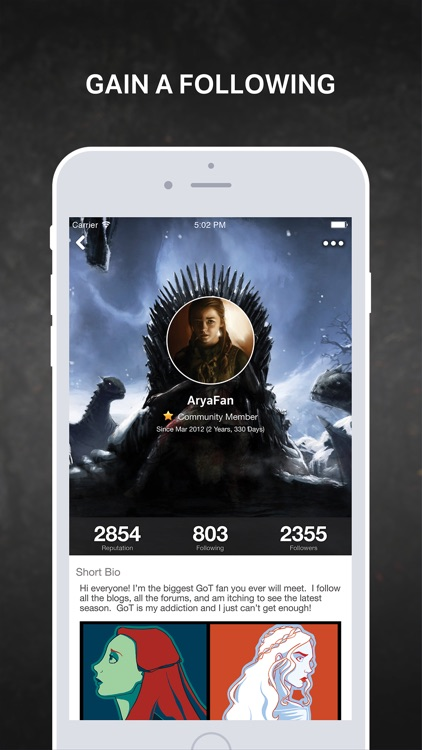 Amino for: Game of Thrones
