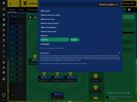 Screenshot #6 pour Football Manager Touch 2018