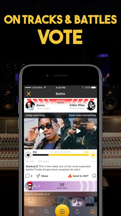 Rap Fame on Battle Me Studio screenshot-5