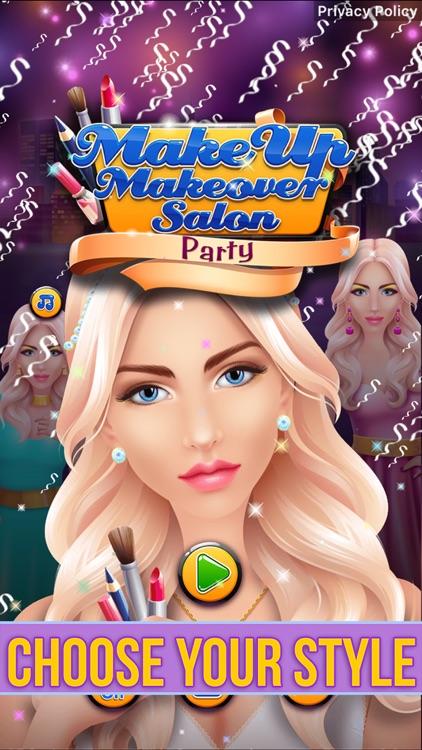 Make Up Makeover Salon Party screenshot-6