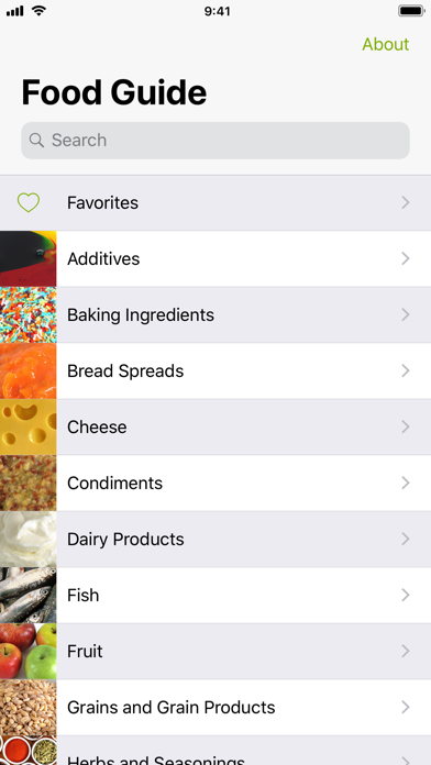 Screenshot for Food Guide in Egypt App Store