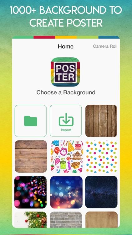 Poster Maker- Flyer Maker screenshot-0