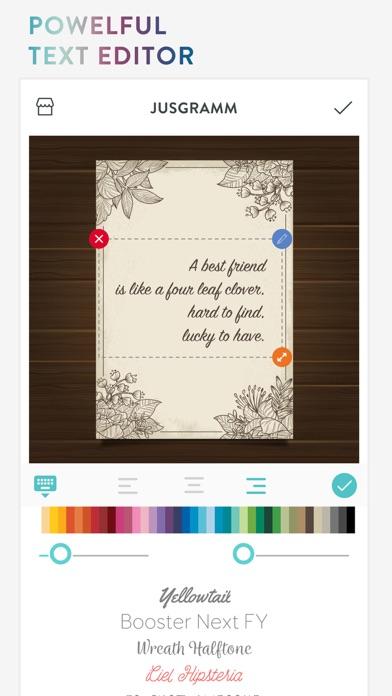 Jusgramm Photo Frames & Poster - App - Mobile Apps
