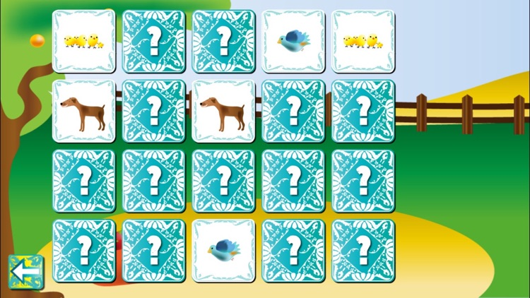 Farm Animal Pairs Game PRO