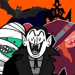 Scary HalloweenMoji Stickers