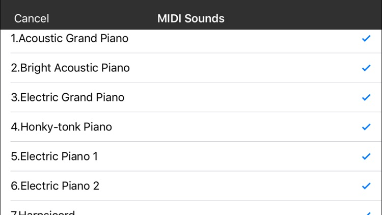 midi Keyboard screenshot-1