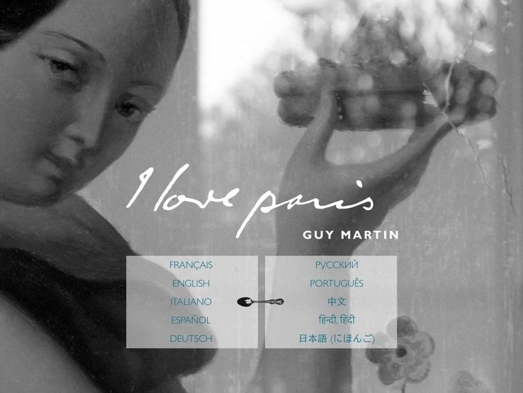 I love paris By Guy Martin