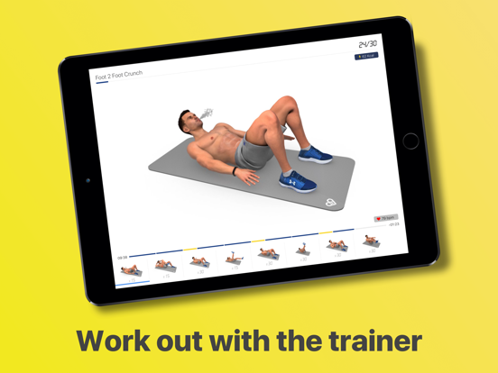 Abs Workout - Daily Fitness-ipad-3
