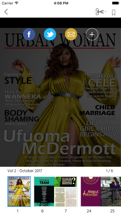 Urban Woman Magazine screenshot 2