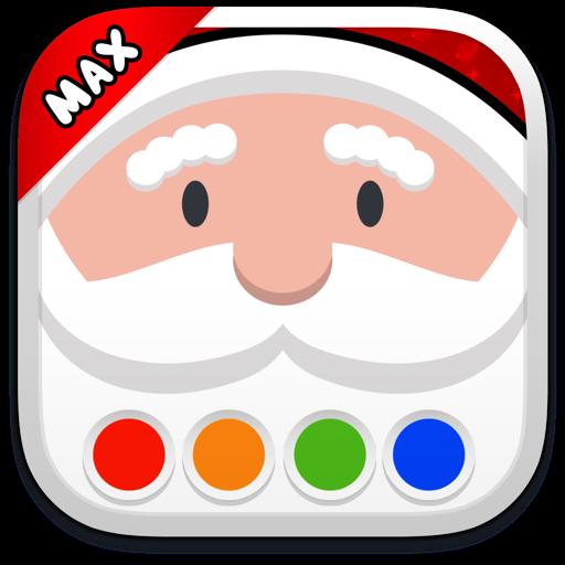 Раскраска - Дед Мороз MAX