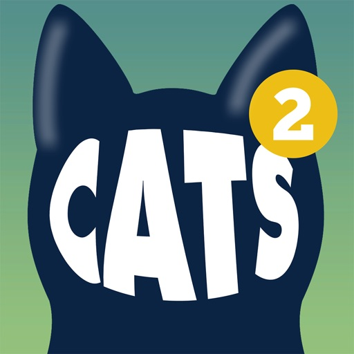 Cats Animated Text Stickers 2