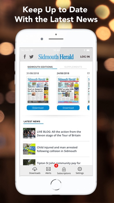 Sidmouth Herald screenshot four