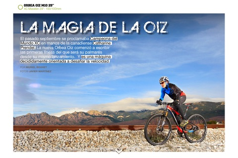 MTBpro Magazine screenshot 3