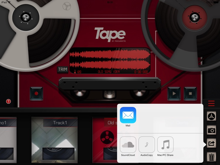 Tape by Focusrite