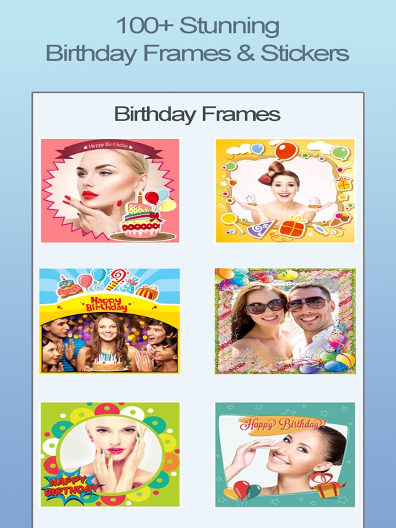 Happy Birthday Photo Frames Fx App Price Drops
