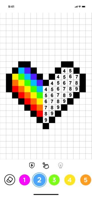 No.Draw – Pixel para colorear en App Store