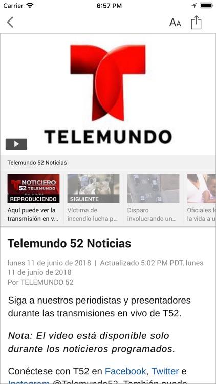 Telemundo 52 screenshot-3
